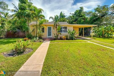 Pompano Beach Single Family Home For Sale: 200 NE 8th St