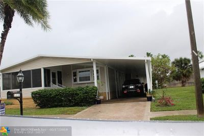 Deerfield Beach Single Family Home For Sale: 5338 NW NW 1st Ave