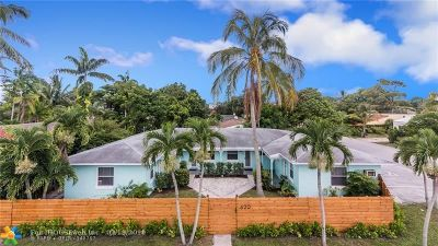 Fort Lauderdale Multi Family Home For Sale: 620 SW 7th St