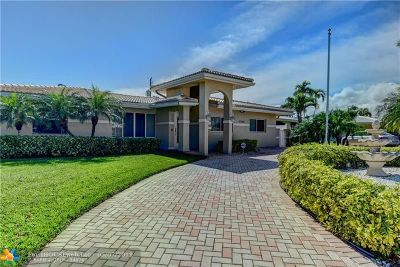 Pompano Beach FL Single Family Home For Sale: $599,000