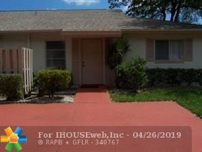 Boca Raton Condo/Townhouse For Sale: 18764 Schooner Dr #D
