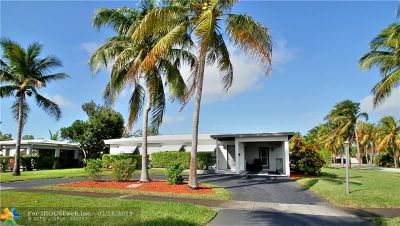 Pompano Beach Single Family Home For Sale: 1201 SW 4th Ave