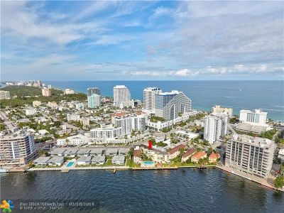 Fort Lauderdale Condo/Townhouse For Sale: 341 N Birch Rd #415