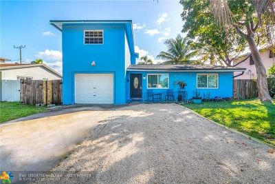 Hollywood Single Family Home For Sale: 527 S 28th Ave