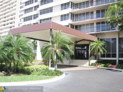 Fort Lauderdale Condo/Townhouse For Sale: 4280 Galt Ocean Drive #16M