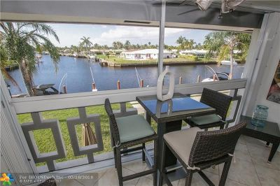 Pompano Beach Condo/Townhouse For Sale: 800 Pine Dr #12