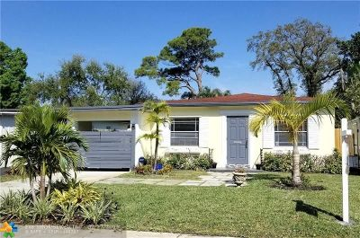 Fort Lauderdale Single Family Home For Sale: 909 SW 19th St