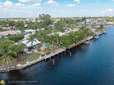 Fort Lauderdale Single Family Home For Sale: 1730 NE 23rd Ave