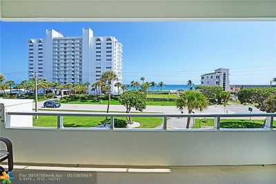 Boca Raton Condo/Townhouse For Sale: 3051 S Ocean Blvd #302
