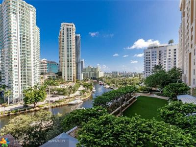 Fort Lauderdale Condo/Townhouse For Sale: 511 SE 5th Ave #818