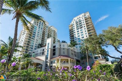 Fort Lauderdale Condo/Townhouse For Sale: 610 W Las Olas Blvd #1213N
