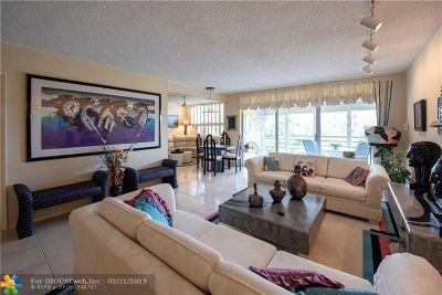 Pompano Beach FL Condo/Townhouse For Sale: $199,500