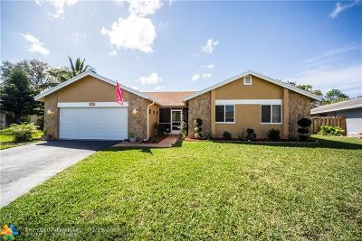 Coral Springs FL Single Family Home For Sale: $390,000