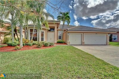 Coral Springs Single Family Home For Sale: 5039 NW 124th Way