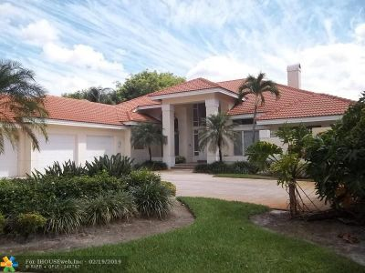Boca Raton Single Family Home For Sale: 3912 NW 52nd St