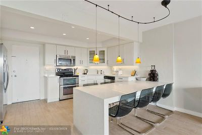 Hollywood Condo/Townhouse For Sale: 3111 N Ocean Dr #309
