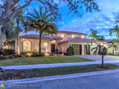 Weston Single Family Home Backup Contract-Call LA: 2657 Edgewater Dr