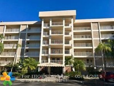 Pompano Beach Condo/Townhouse For Sale: 3000 S Course Dr #310