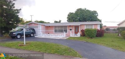 Lauderdale Lakes Single Family Home For Sale: 3299 NW 41st St