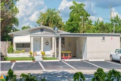 Fort Lauderdale FL Multi Family Home For Sale: $650,000