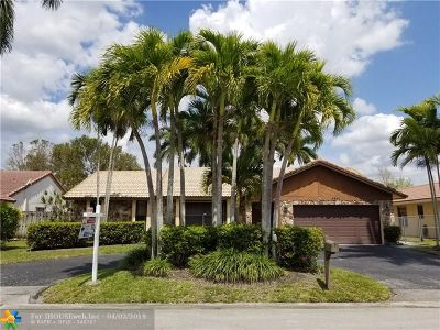 Coral Springs Rental For Rent: 6631 NW 52nd St