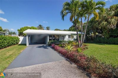 Oakland Park Single Family Home Backup Contract-Call LA: 621 NW 35th Ct