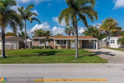 Deerfield Beach Single Family Home For Sale: 1421 S Deerfield Ave