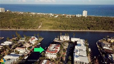 Fort Lauderdale Condo/Townhouse For Sale: 2765 NE 14th St #31