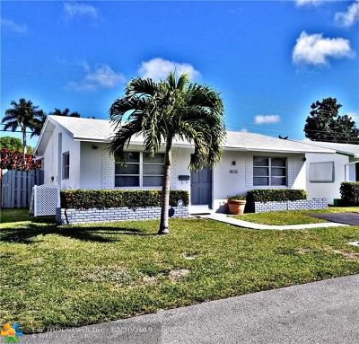 Tamarac Single Family Home For Sale: 4576 NW 16th Ave