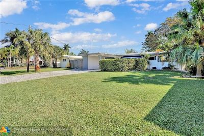 Fort Lauderdale FL Single Family Home For Sale: $480,000