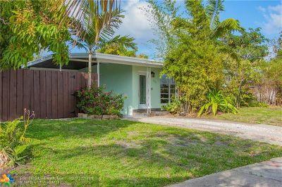 Pompano Beach Single Family Home For Sale: 1311 NE 40th Ct