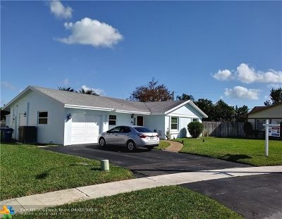 Lauderhill Single Family Home For Sale: 4520 NW 85th Ave