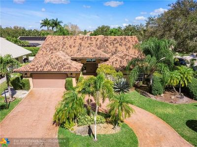Coral Springs Single Family Home For Sale: 10301 NW 50th Ct