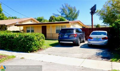 Boynton Beach Single Family Home For Sale: 114 NW 6th St