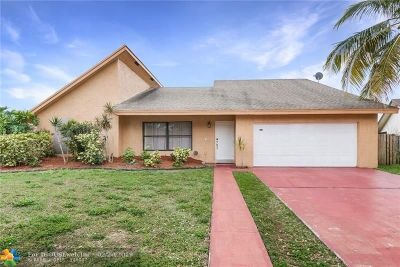 Sunrise Single Family Home For Sale: 9470 NW 43rd St