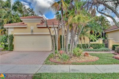 Coral Springs Single Family Home For Sale: 5801 NW 122nd Ter