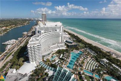 Miami Beach Condo/Townhouse For Sale: 4401 Collins Ave #3003