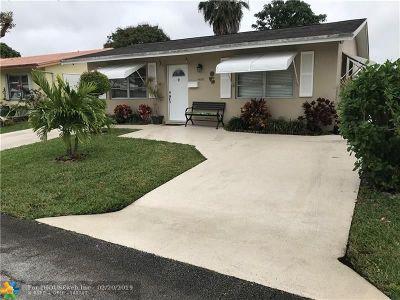 Tamarac Single Family Home For Sale: 4808 NW 45th Te