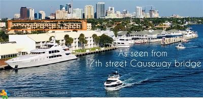 Fort Lauderdale FL Condo/Townhouse For Sale: $260,000