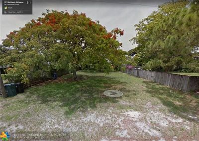Fort Lauderdale Residential Lots & Land For Sale: 1513 NW 4th Ave