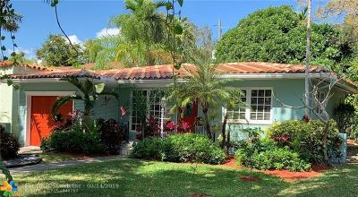 Coral Gables Single Family Home For Sale: 817 Venetia Ave