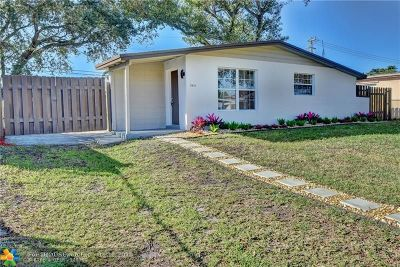 Davie Single Family Home For Sale: 5510 SW 38th Ct