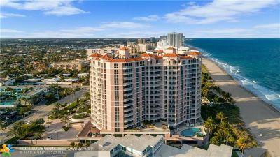 Pompano Beach FL Condo/Townhouse For Sale: $1,625,000