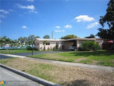 Margate Single Family Home For Sale: 6322 Royal Palm Blvd