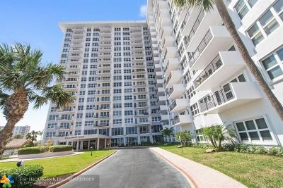 Pompano Beach Condo/Townhouse For Sale: 405 N Ocean Blvd #1118