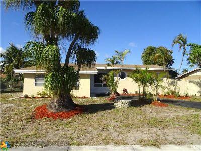 Pompano Beach FL Single Family Home For Sale: $274,900