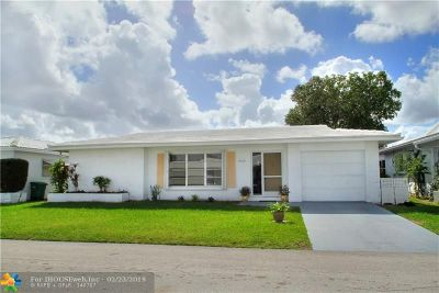 Tamarac Single Family Home For Sale: 8518 NW 59th St