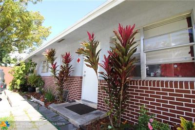 Pompano Beach Multi Family Home For Sale: 3104 NW 3rd Ave