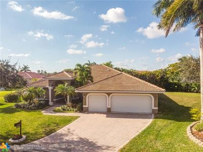Coral Springs FL Single Family Home For Sale: $559,000