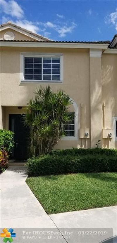 Coconut Creek FL Condo/Townhouse For Sale: $239,000